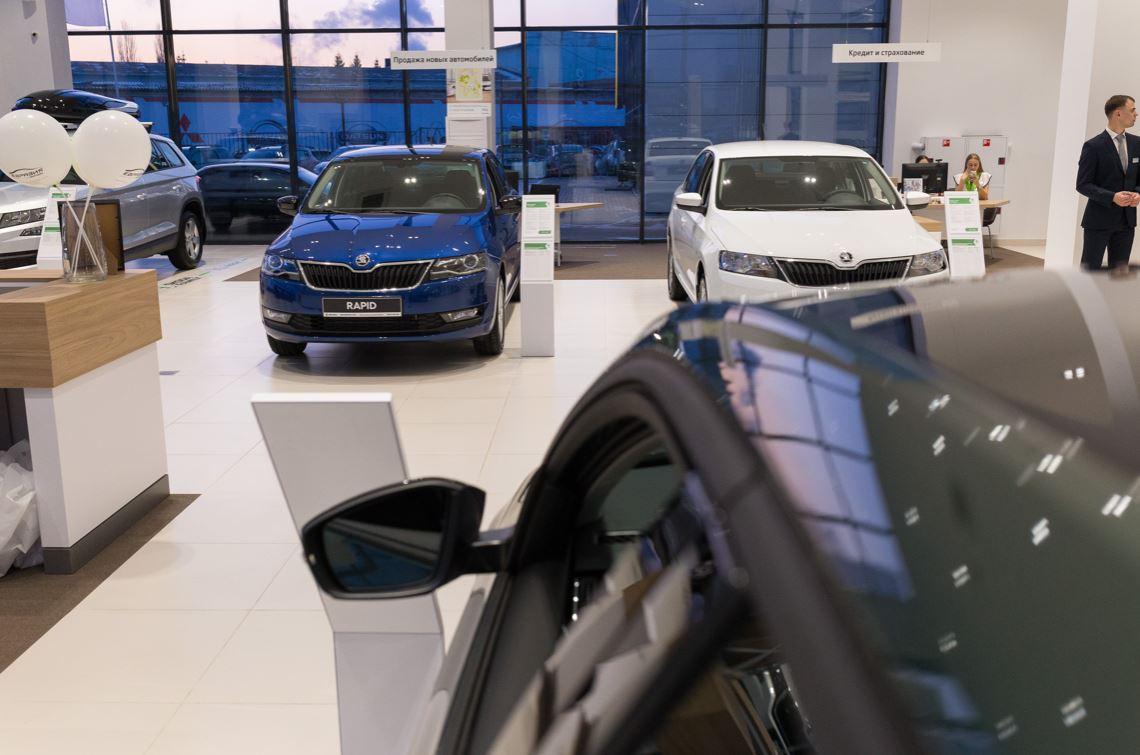 Škoda официально открыла второй дилерский центр в Омске - Изображение