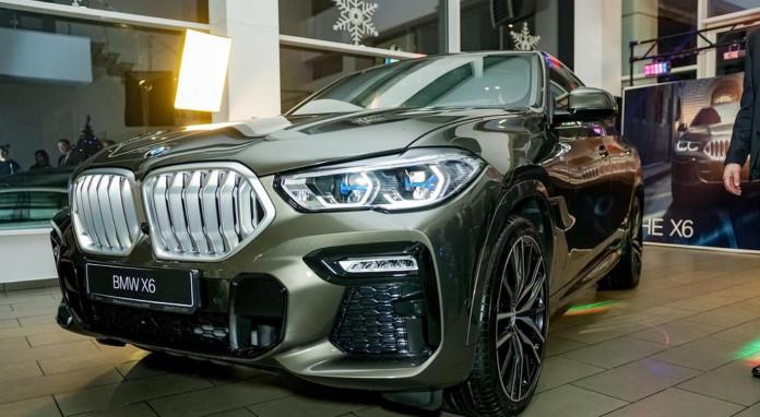 Миниатюра для: Жители Сибири разобрали большую часть квоты на новое поколение BMW Х6 еще до презентации модели