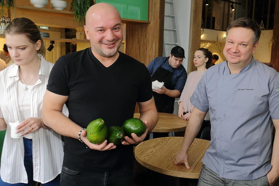В Новосибирске открывается второе заведение московского ресторатора Аркадия Новикова - Фотография