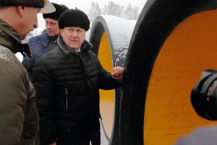 Миниатюра для: Новый коллектор соберет грязные стоки на Левом берегу Новосибирска