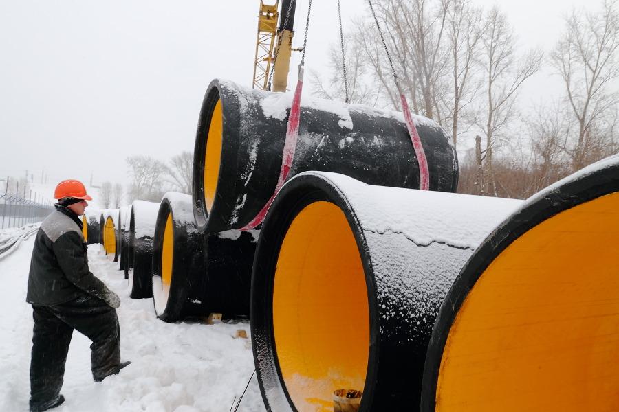 Новый коллектор соберет грязные стоки на Левом берегу Новосибирска - Фотография