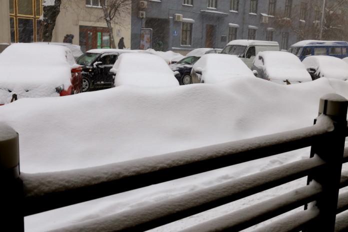 Миниатюра для: В Новосибирске ввели режим ЧС из-за погодных условий