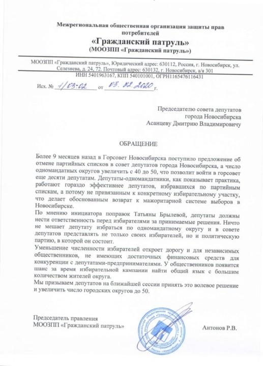 Новосибирских депутатов торопят с отменой партийных списков - Фотография