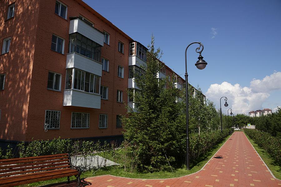 Новые кварталы