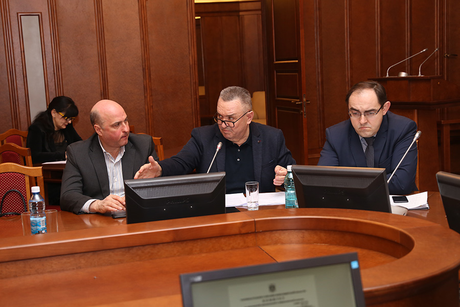 Депутат ЗСНСО Валерий Ильенко