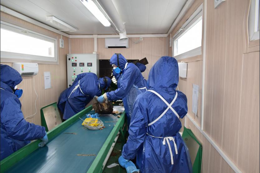 Новая линия сортировки мусора открыта в Новосибирске - Фотография