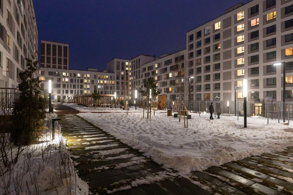 город Новосибирск жилой квартал