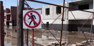 Новосибирские строители останавливают стройки