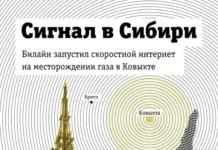 Билайн подключил основное месторождение газопровода «Сила Сибири» к высоким скоростям LTE