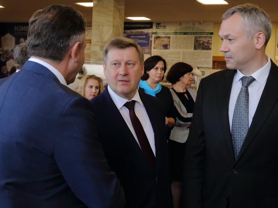 Андрей Шимкив, Анатолий Локоть, Андрей Травников