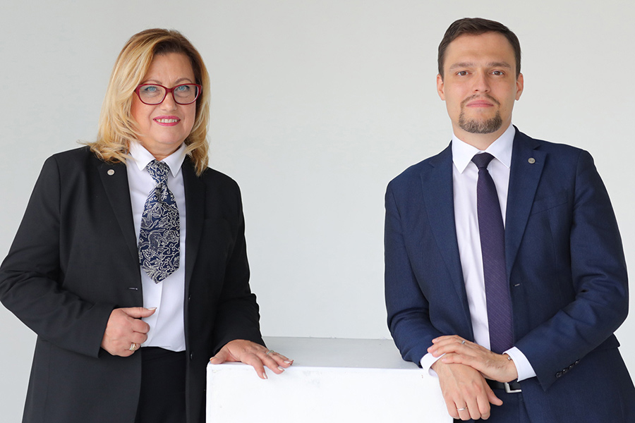 Татьяна Гончарова, управляющий партнер, Семен Смирнов, партнер — Юридическая компания LexProf