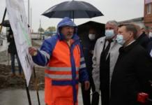 Четырехполосный участок улицы Кедровой в Новосибирске откроют в июне