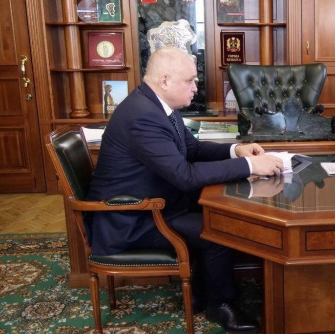 Миниатюра для: Губернатор Кузбасса ввел режим ЧС на территории двух районов области