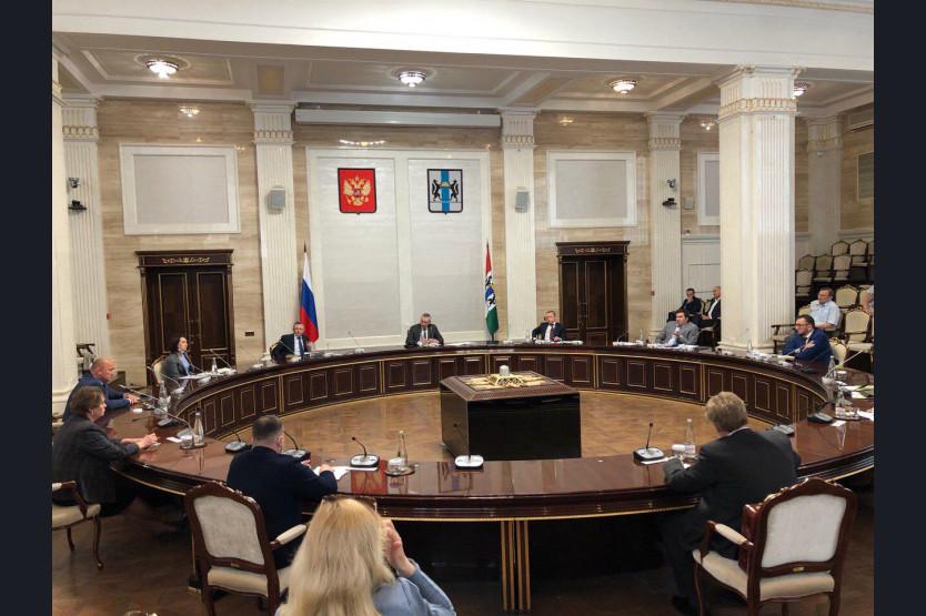 Андрей Травников обсудил с главврачами эффективность мер по борьбе с коронавирусом в Новосибирской области