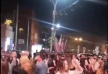 В ГУ МВД по Новосибирской области начали проверку по факту проведения массовой вечеринки на площади Ленина