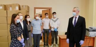 Волонтёрский центр «Единой России» во время эпидемии коронавируса