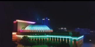 Мэр Новосибирска высказался о подсветке театра оперы и балета
