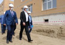 Андрей Травников сообщил о строительстве в Новосибирской области 25 объектов образования в рамках нацпроектов