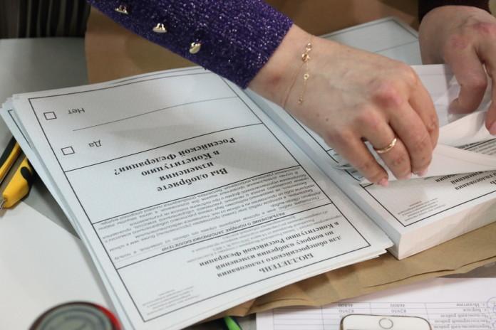 Андрей Травников и Андрей Шимкив проверили организацию голосования по внесению поправок в Конституцию РФ