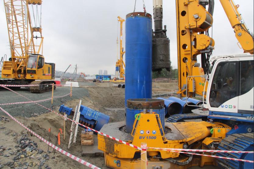 В Новосибирске приступили к строительству четвертого моста через Обь