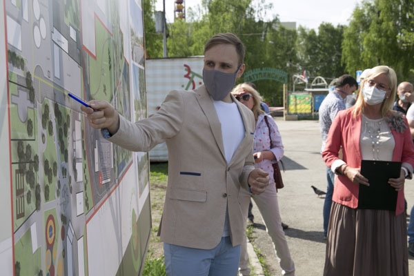 Разработчик проекта Игорь Карнаухов рассказывает об единой концепции дисперсного парка