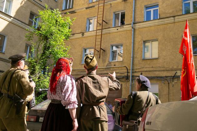 Как отмечают 9 мая в Новосибирске