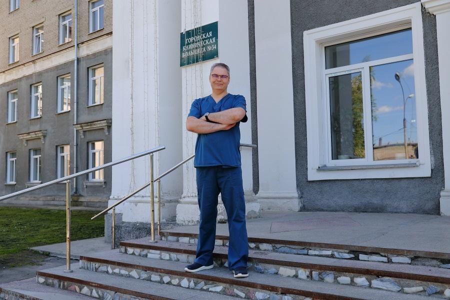 Травматолог-ортопед Валерий Моноенко