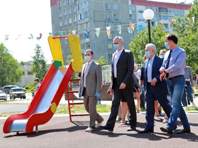 Миниатюра для: Проект ЕР «Городская среда» в Новосибирской области продолжится до 2024 года