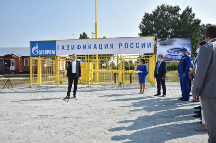 Миниатюра для: Андрей Травников поблагодарил «Газпром» за газификацию ТОСЭР «Горный»