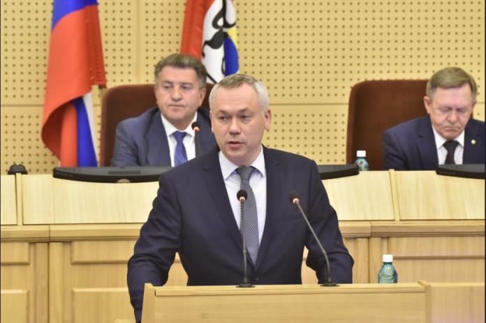 Миниатюра для: Новосибирский губернатор охарактеризовал работу депутатов Заксобрания