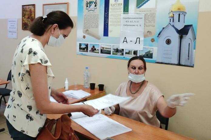 Миниатюра для: В двух сибирских городах-миллионниках подвели итоги по явке на общероссийское голосование по поправкам в Конституцию РФ