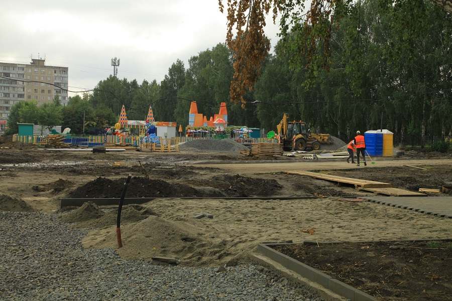 «Не хуже, чем в центре»: новый парк появится в левобережье Новосибирска