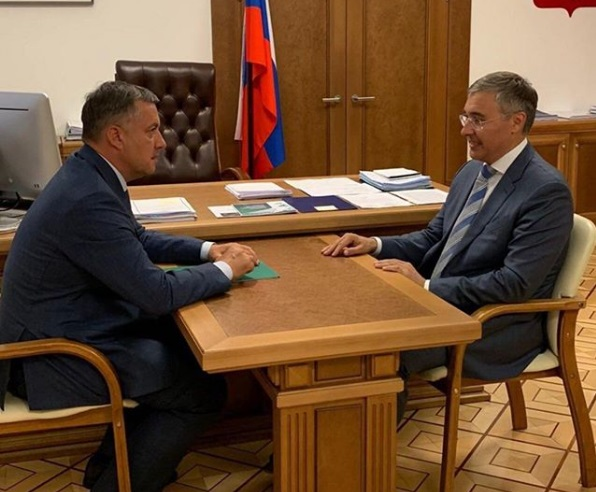 Миниатюра для: Врио губернатора Иркутской области обсудил в Москве создание научно-образовательного центра «Байкал»