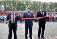 Новый железнодорожный вокзал открыт на станции Сокур в Новосибирской области