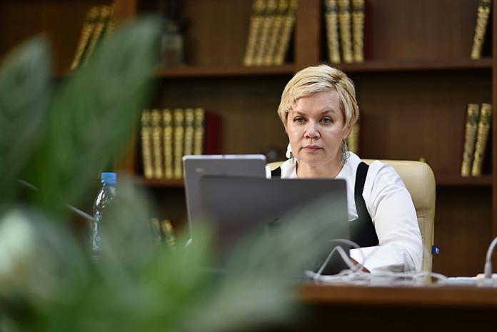 Председатель Сибирского банка Сбербанка Татьяна Галкина