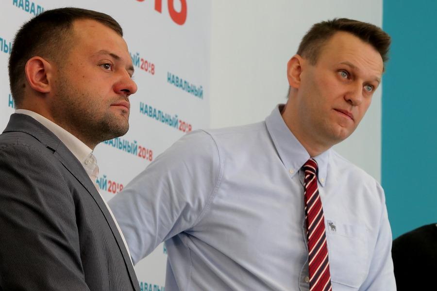 Сергей Бойко и Алексей Навальный