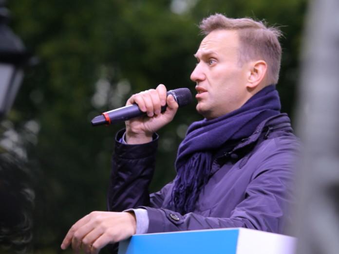 Алексей Навальный в Новосибирске
