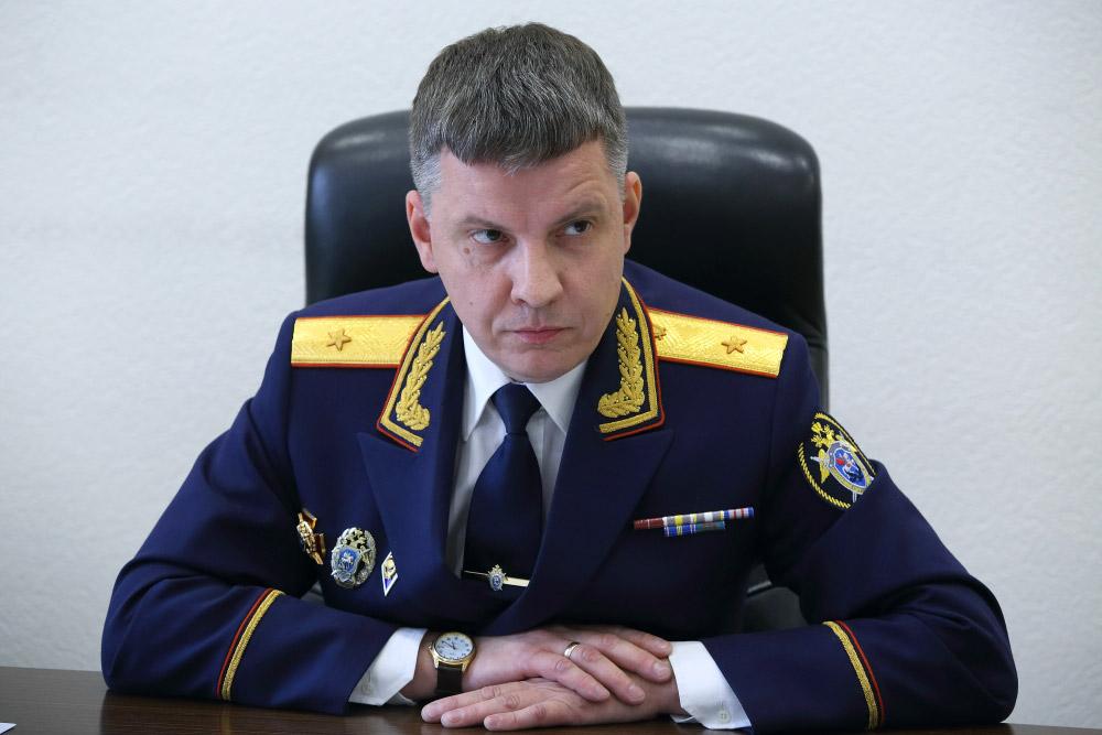 Глава СУ СКР по Новосибирской области временно отстранен от должности на время проверки - Фотография