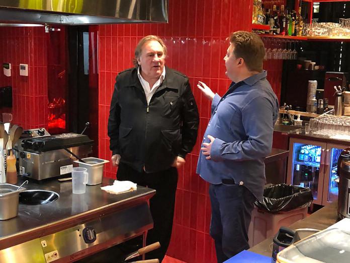 Миниатюра для: Жерар Депардье откроет ресторан в Новосибирске