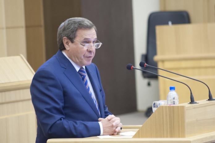Задекларированный доход сенатора Владимира Городецкого