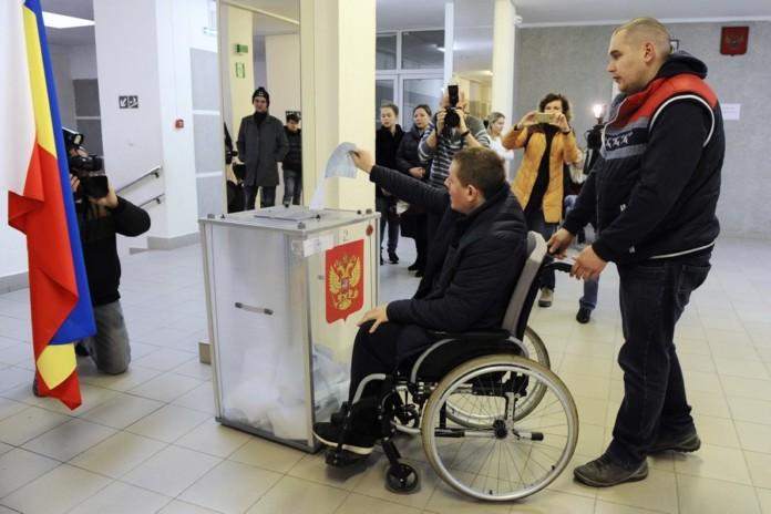 В Новосибирской области оборудовали избирательные участки для людей с инвалидностью