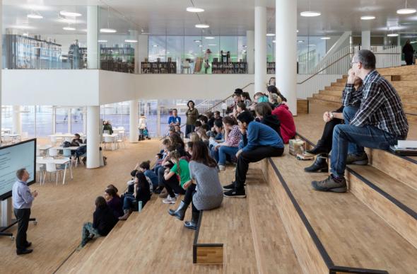 Проект школы в «Европейском береге» Новосибирска возьмут за новый стандарт - Фотография