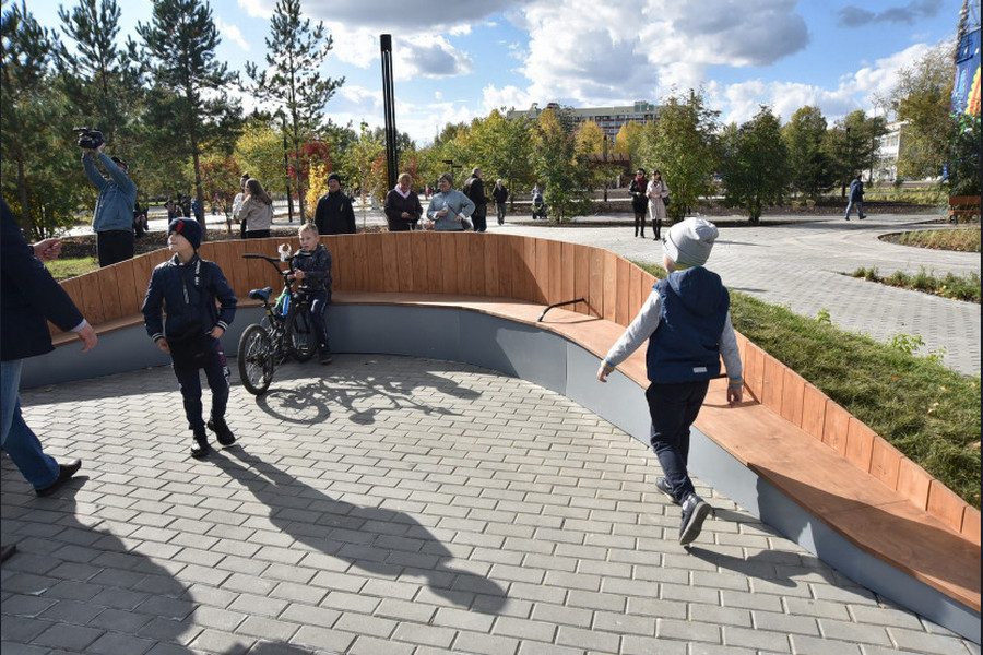На Затулинке в Новосибирске открылся дисперсный парк - Изображение