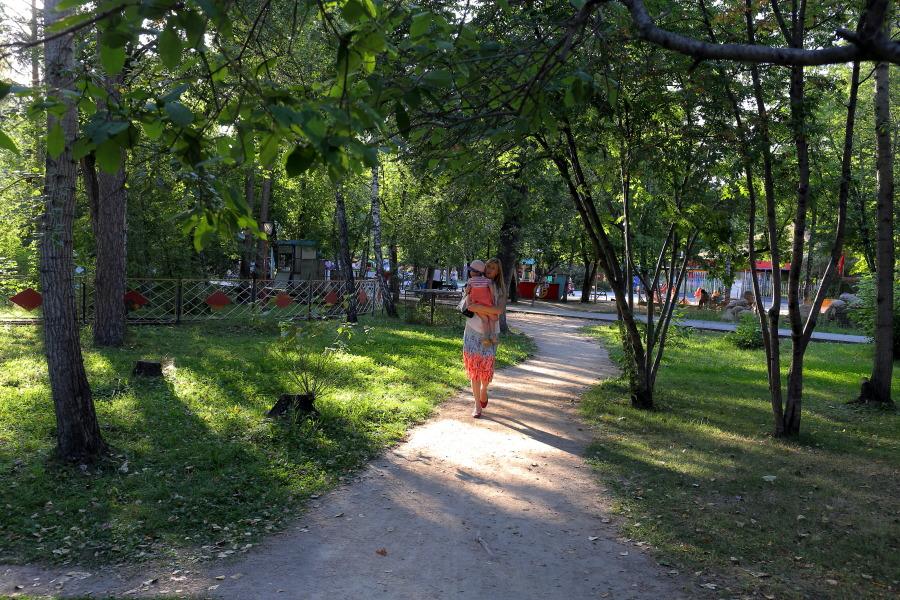 Парк в Новосибирске