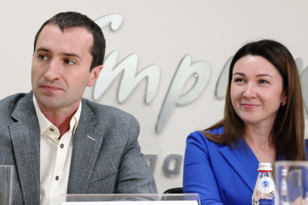 Степан Сафонкин и Екатерина Шалимова Лига эффективности