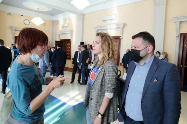 Светлана Каверзина,Хельга Пирогова,Сергей Бойко Коалиция 2020