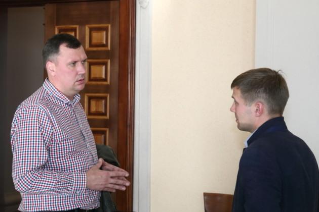 Александр Михайлов и Павел Горшков КПРФ