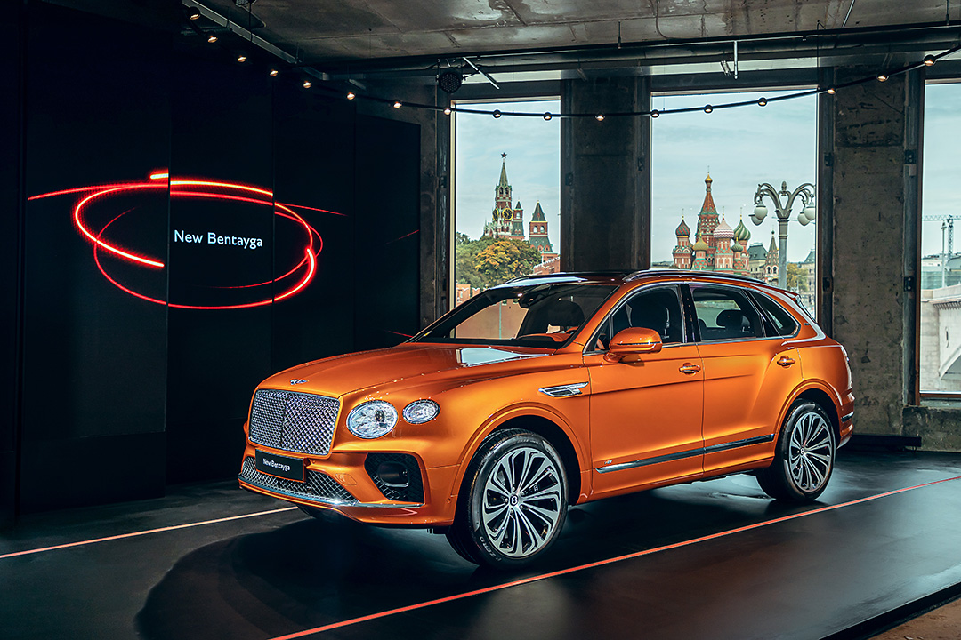 Новое поколение Bentley Bentayga