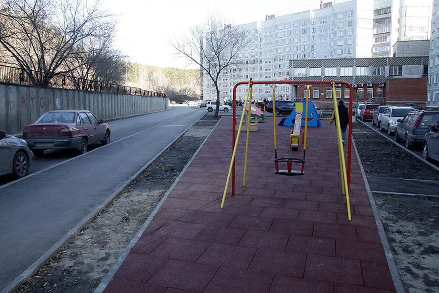 Мэрия Новосибирска завершила крупнейший за этот год проект по благоустройству - Изображение