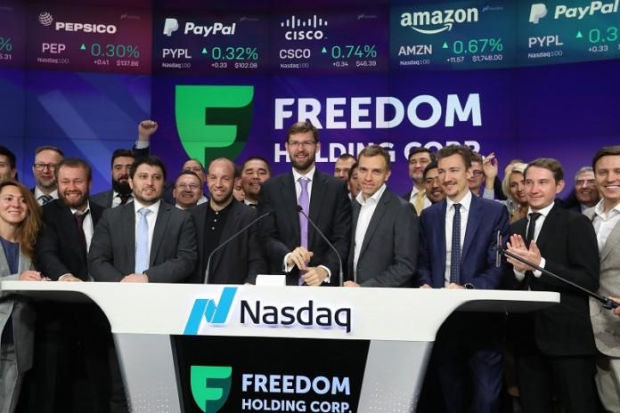 Выросли на 89%: группа «Фридом Финанс» подводит итоги первого года на NASDAQ